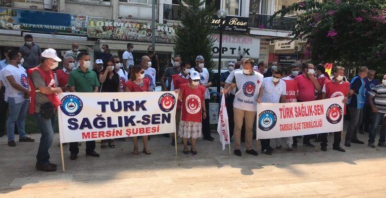 Türk Sağlık-Sen Sağlık Çalışanlarının Sorunları İçin Tüm Türkiye'de Alanlarda!